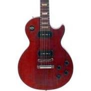 GIBSON LES PAUL STUDIO LIMITED P90 2011 WORN CHERRY