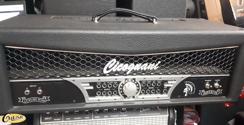 CICOGNANI IMPERIUM LUXURY H120 GUITAR VALVE HEAD